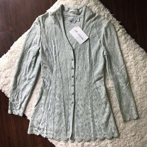 Sequin Cocktail Jacket by St John Evening NWT
